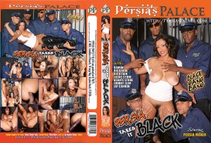 Persia In a Black Gang Bang
